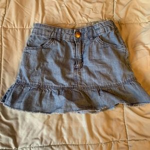 H&M denim miniskirt
